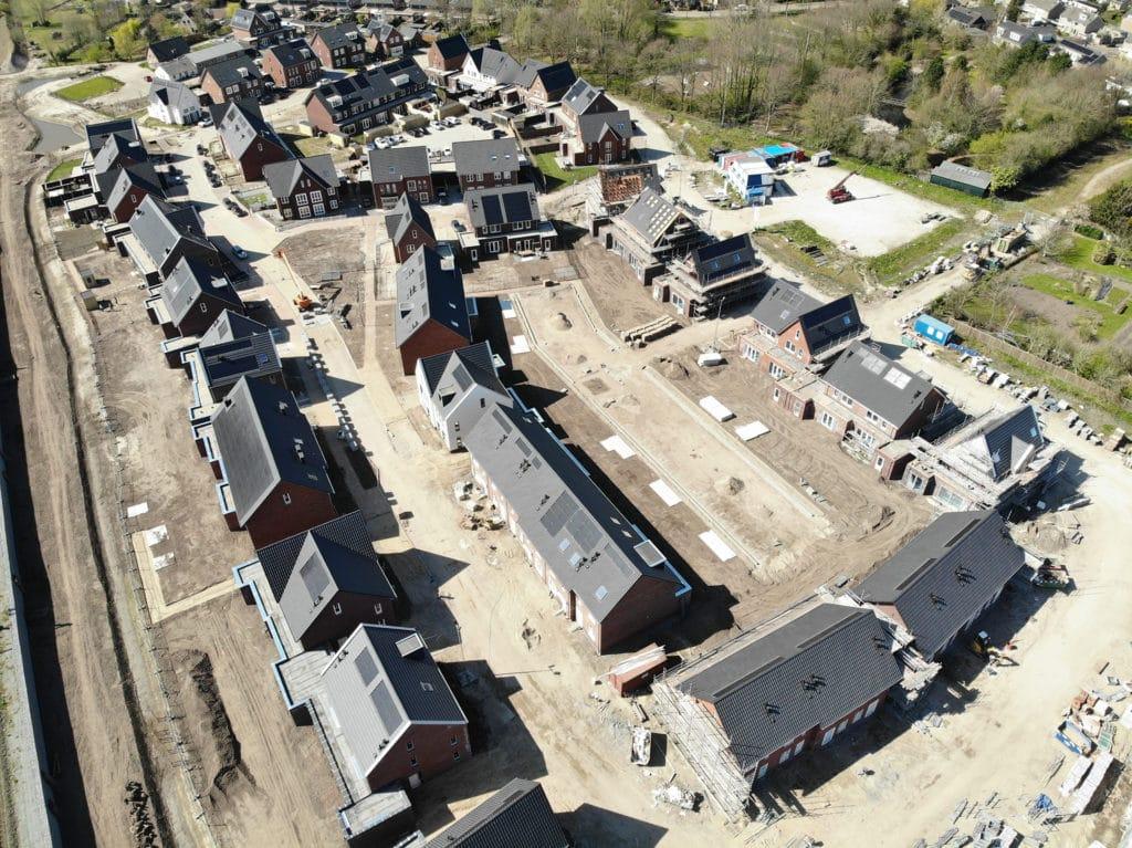 Luchtfoto's van project Westrik